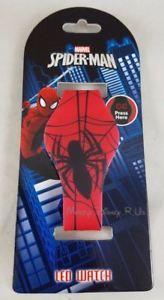 【送料無料】腕時計 ウォッチマーベルスパイダーマンラバーラバーストラップロゴベルトアンプ marvel spiderman rubber led rubber wrist watch logo amp; webbing design