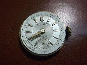 【送料無料】腕時計 ウォッチスイスメッカニコmovimento orologio kolossal swiss made 17 jevels meccanico 2*11