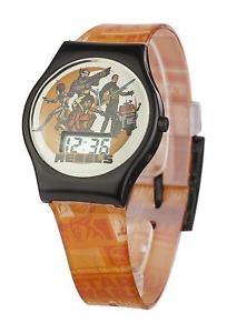 【送料無料】腕時計 ウォッチライセンススターウォーズデジタルオレンジブラック