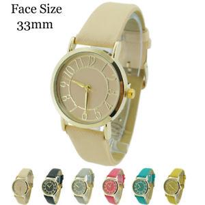 【送料無料】腕時計 ウォッチレディースデザイナーレザーウォッチladies designer leather watch 33mm