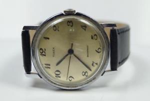 【送料無料】腕時計 ウォッチアラビアビンテージvintage gentlemens timex 1970s 10312469 watch arabic numerals 34mm