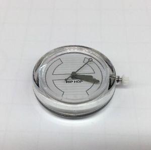 【送料無料】腕時計 ウォッチアルヒップホップカサミリmovimento al quarzo orologio hip hop cassa 30mm righe, grigio