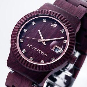 【送料無料】腕時計 ウォッチトラモントスカイコレクションab aeterno sky kollektion tramonto hlzerne uhr