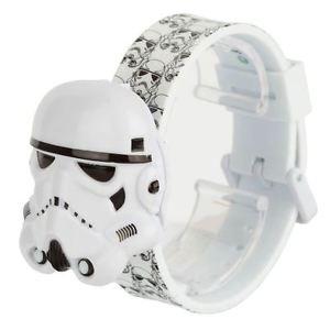 【送料無料】腕時計 ウォッチスターウォーズフリップトップウォッチicially licensed star wars stormtrooper character led flip top watch