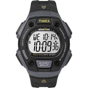 【送料無料】腕時計 ウォッチラップウォッチクロノグラフアラームtimex tw5m09500, men039;s ironman 30lap resin watch, alarm, indiglo, chronograph