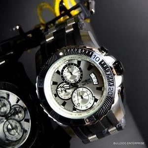 【送料無料】腕時計 ウォッチメンズプロダイバークロノグラフブラックラバーウォッチ