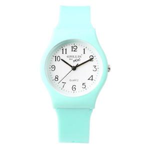 【送料無料】腕時計 ウォッチファッションシンプルシリコンウォッチ fashion simple transparent quartz watch waterproof silicone watch for studen