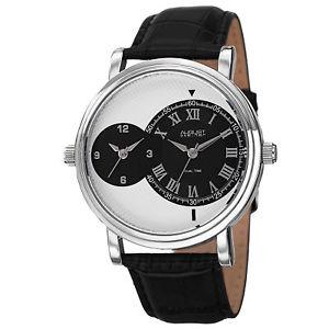 【送料無料】腕時計 ウォッチ#シュタイナースイスクオーツデュアルタイムブラック