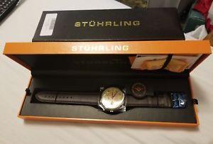 【送料無料】腕時計 ウォッチオリジナルメンズキュベットstuhrling original mens 171b3315k77 classic cuvette automatic watch