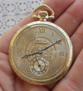 【送料無料】腕時計 ウォッチビンテージハンプデンポケットネイサンヘイル
