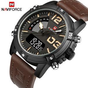 【送料無料】腕時計 ウォッチ#アナログクリスマスプレゼントファッションスポーツnaviforce men039;s fashion sport watches analog led leather xmas gifts for him son