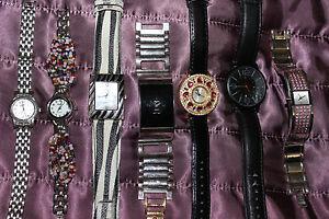 【送料無料】腕時計 ウォッチバッテリーレディースウォッチジョブロットbattery operated 7 ladies watches job lot