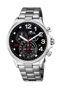 【送料無料】腕時計 ウォッチスポーツメンズクロノグラフlotus sport herren chronograph 101264
