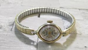 【送料無料】腕時計 ウォッチビンテージウォルサムvintage waltham womens wristwatch ~ 17jewels ~ 4h7112