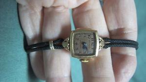 【送料無料】腕時計 ウォッチゴールドビンテージウォルサムプレミアローズvintage waltham premier rose cloroed 10k gold filled wrist watch