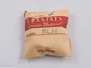 【送料無料】腕時計 ウォッチホイールlongines genuine material part 4 fourth wheel complete for longines cal 8ln