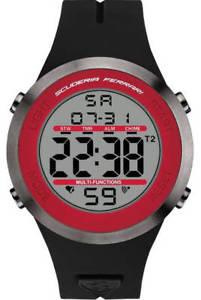 【送料無料】腕時計 ウォッチメンズスクーデリアフェラーリデジタルスポーツクロノグラフウォッチmens scuderia ferrari red digital sports chronograph watch 830371