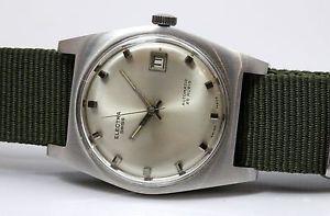 【送料無料】腕時計 ウォッチエレクトラウォッチステンレススチールミリwatch electra automatic acier sur nato stainless steel on nato 35mm