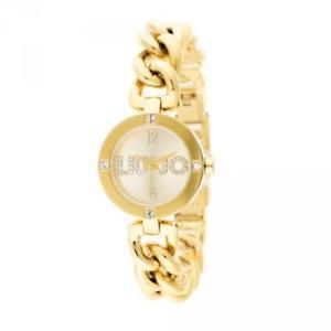 【送料無料】腕時計 ウォッチラグジュアリーリュジョドナココゴールドorologio donna liu jo luxury koko tlj719 bracciale acciaio gold dorato 2014