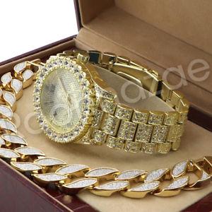 【送料無料】腕時計 ウォッチウェインヒップホップフリーメイソンkゴールドブレスレットセットサンドブラストmen lil wayne hip hop freemason 14k gold pt watch sandblast bracelet set f21g