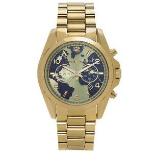 【送料無料】腕時計 ウォッチミハエルラウンドデザインブレスレットゴールドトーンウォッチmichael kors oversized bradshaw 100 goldtone round design bracelet watch mk6272