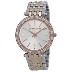 【送料無料】腕時計 ウォッチミハエル michael kors mk3203 darci womens silver watch