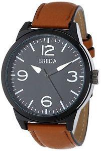 【送料無料】腕時計 ウォッチブラウンメンズウォッチブラウンレザーストラップバックルカバースティーブン