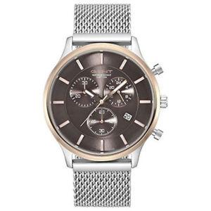 【送料無料】腕時計 ウォッチメンズアナログクロノグラフステンレスgant herrenuhr greenville gt002001 analog chronograph edelstahl silber