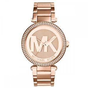 腕時計 ウォッチミハエルパーカーゴールドレディースローズ michael kors mk5865 ladies rose gold parker watch  2 year warranty