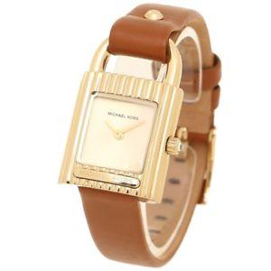 【送料無料】腕時計 ウォッチミハエルクオーツステンレススチールレザーウォッチnib michael kors mk2693 isadore quartz stainless steel leather watch