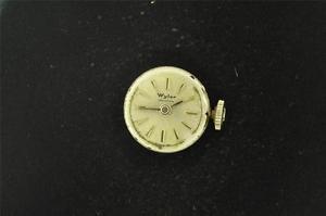 【送料無料】腕時計 ウォッチヴィンテージレディースワイラームーブメントキャリバーvintage ladies wyler wristwatch movement caliber w6324 running
