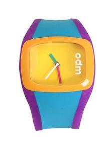 【送料無料】腕時計 ウォッチホットトピックシリコンレトロodm blue uncoordinated wrist watch hot topic silicone water resistant retro
