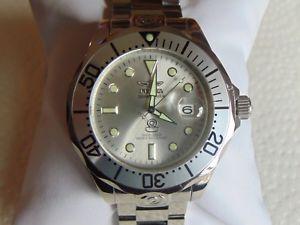 【送料無料】腕時計 ウォッチグランドダイバーステンレススチールinvicta grand diver 47mm automatic 24 jewel high polished stainless steel watch