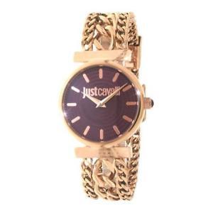 【送料無料】腕時計 ウォッチキャバリクチュールorologio donna just cavalli couture r7253578502 bracciale acciaio ros prugna