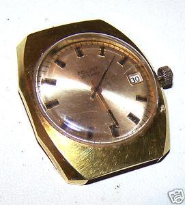 【送料無料】腕時計 ウォッチポンドソプラークミクロン montre poljot made in ussr, urss automatique 30 jewels plaque or 20 microns