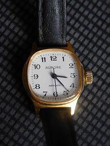 【送料無料】腕時計 ウォッチレディリレーancienne montre mecanique dame aurore fonctionne