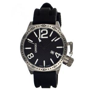 64af1da7b4f1 【送料無料 オンライン】腕時計 ウォッチ#ブラックシリコンスイスクオーツシルバー:あさくさ福猫太郎
