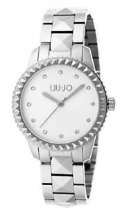【送料無料】腕時計 ウォッチラグジュアリーリュジョドナスパイクシルバーorologio donna liu jo luxury spike tlj1122 bracciale acciaio silver