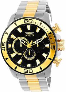 【送料無料】腕時計 ウォッチメンズプロダイバークォーツクロノグラフメートルトーンステンレススチールinvicta mens pro diver quartz chrono 100m two tone stainless steel watch 22588
