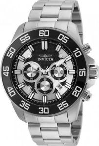 【送料無料】腕時計 ウォッチメンズプロダイバーステンレススチールクロノグラフウォッチinvicta mens pro diver 24842 stainless steel chronograph watch