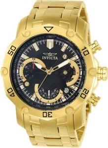 【送料無料】腕時計 ウォッチプロダイバークロノグラフゴールドトーンブレスレットinvicta pro diver 22767 gold tone chronograph bracelet watch
