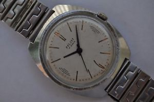【送料無料】腕時計 ウォッチビンテージソロシアvintage ussr russian wristwatch poljotserviced[160]