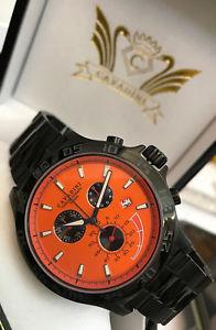 【送料無料】腕時計 ウォッチミラージュウォッチソリッドステンレススチールブラックオレンジ