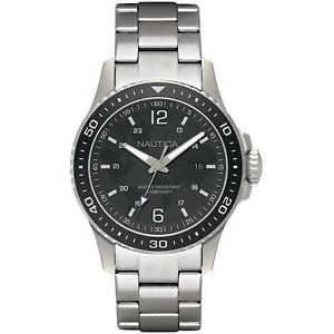 【送料無料】腕時計 ウォッチノーティカnautica orologio acciaio quadrante nero 44 mm napfrb007