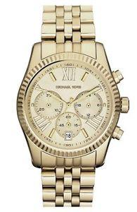 【送料無料】腕時計 ウォッチミハエルレキシントンクロノグラフゴールドデザイナーベストセラー michael kors mk5556 lexington chronograph gold designer watch uk seller