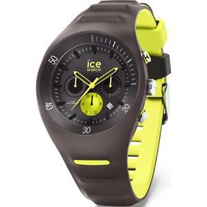 【送料無料】腕時計 ウォッチクロノシリコンウォッチorologio uomo ice watch leclercq ic014946 chrono silicone grigio giallo fluo