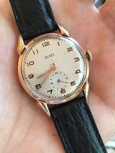 【送料無料】腕時計 ウォッチビンテージスイスメンズファンシーウォッチラグbiart vintage swiss made mens dress watch fancy lugs
