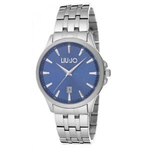 【送料無料】腕時計 ウォッチorologio uomo liujo luxury stainless steel groove blue tlj1081