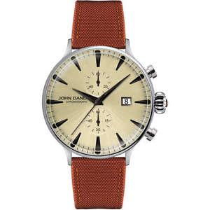 【送料無料】腕時計 ウォッチジョンダンディクロノメートルorologio uomo john dandy tessuto chrono ref jd2608m22