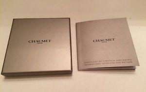 【送料無料】腕時計 ウォッチファインジュエリーchaumet, certificat de garantie horlogerie vierge joaillerie bijouterie de luxe
